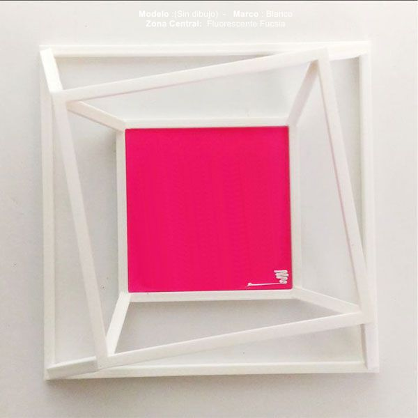 cuadro-aire-DE3DE-Decoración-Impresion3D-moderno-diseño-#impresión3D-#design-#impresion3d-#3dprinting-#deco-#3d