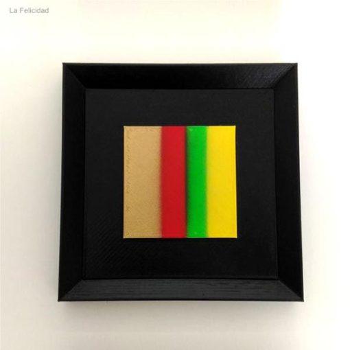 cuadro-psicolor-DE3DE-Decoración-Impresion3D-color-moderno-diseño-#impresión3D-#design-#impresion3d-#3dprinting-#deco-#3d