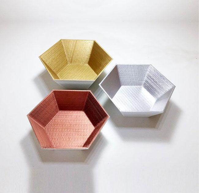 cuencos-hex-DE3DE-Decoración-Impresion3D-moderno-diseño-#impresión3D-#design-#impresion3d-#3dprinting-#deco-#3d