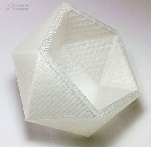 Macetero-florero-pentaedro-Decoración-Impresion3D-moderno-diseño-#impresión3D-#design-#impresion3d-#3dprinting-#deco-#3d