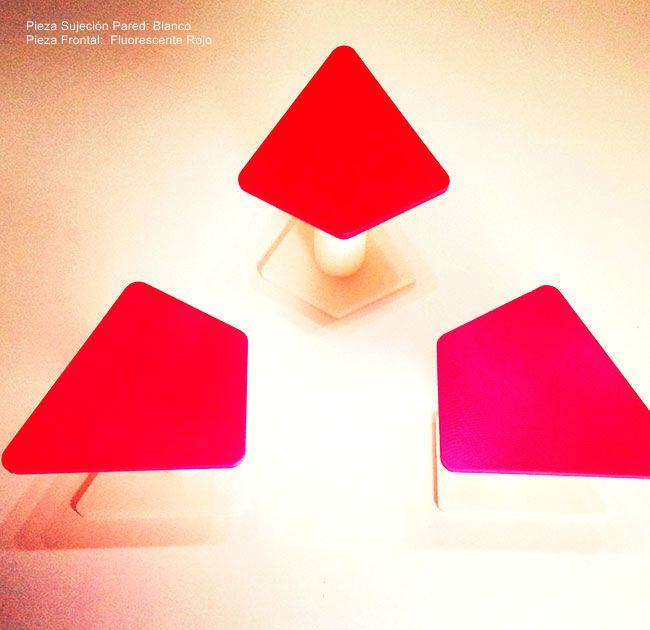 perchero-trap-Decoración-Impresion3D-moderno-diseño-#impresión3D-#design-#impresion3d-#3dprinting-#deco-#3d