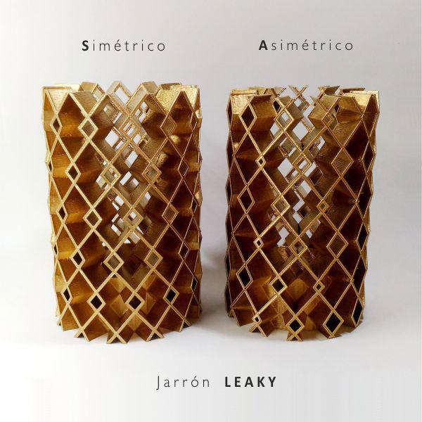 jarrón-leaky-DE3DE-Decoración-Impresion3D-moderno-diseño-#impresión3D-#design-#impresion3d-#3dprinting-#deco-#3d