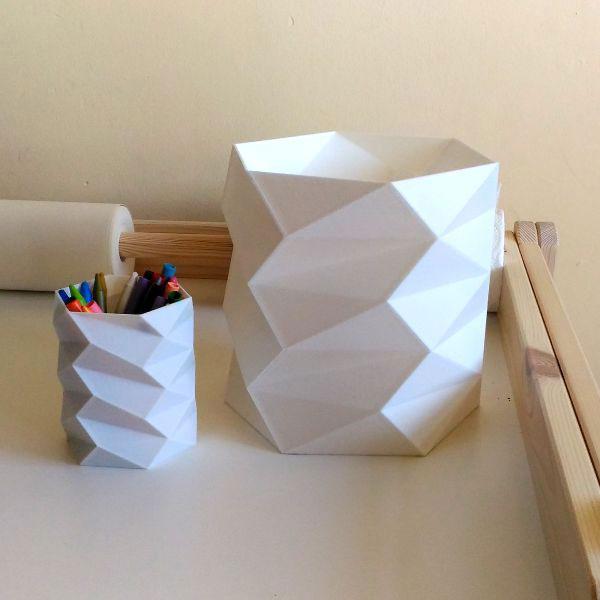 Lapicero-Papelera-FAZ-impresión 3D-de3de-decoración